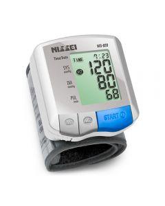 Tensiometru electronic de incheietura Nissei WS-820, afisaj LCD,  memorare 2 x 60 de valori