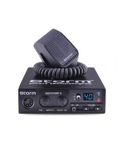 Statie radio CB Storm Discovery, putere 4 W, functie blocare taste, filtru interferente