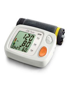 Tensiometru electronic de brat Little Doctor LD 30, adaptor inclus, Afisaj LCD, Memorare 60 de valori, Algoritm Fuzzy, Detectare Aritmie, Clasificare OMS, Afisare data si ora, Validat BHS
