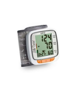 Tensiometru electronic de incheietura Little Doctor LD 12, detectare aritmie, indicator WHO, afisare data si ora