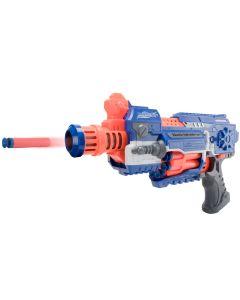 Pistol semi-automat pentru copii FIGHTER Albastru