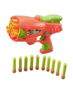 Pistol jucarie CANON Blaster Portocaliu
