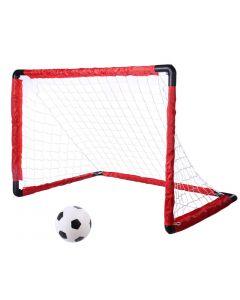 Set poarta si minge fotbal King Sport pliabila