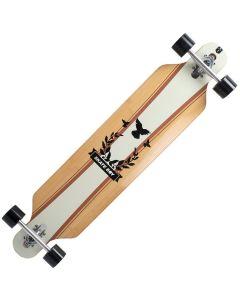 Longboard Land Surfer® bambus, ABEC-9, PU, Aluminiu, 100kg Skate Boy