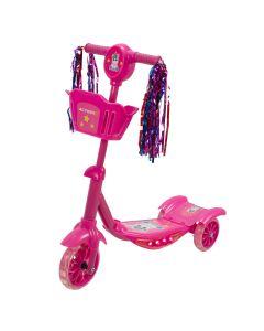 Trotineta KIDDY Unicorn cu Lumini si Muzica Pink
