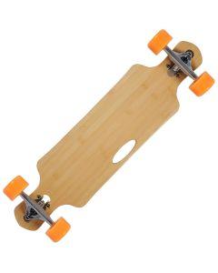 Longboard Action ONE® bambus, ABEC-9, Aluminium, 100 KG Raw