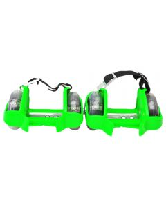 Role luminoase detasabile Flashing Roller verde