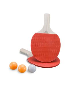 Set palete tenis de masa 7 mm + 3 mingi  KING SPORT