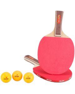 Set palete tenis de masa 8 mm + 3 mingi  ACTEN