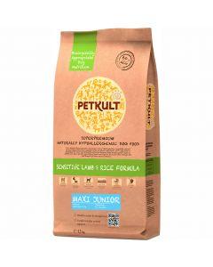 Hrana uscata pentru caini Petkult Sensitive, Maxi Junior, Miel & Orez, 12 k g