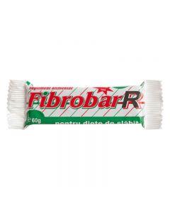 Set 12 batoane proteice Redis, Fibrobar-R, 12 x 60g