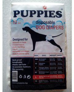 Puppies Scutece Caini L 12 buc