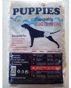 Puppies Scutece Caini M 12 buc