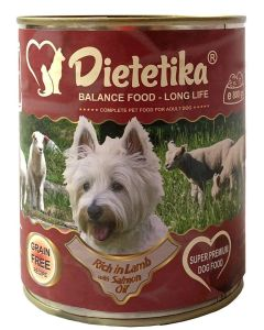 Hrana umeda pentru caini, Dietetika Miel, 400 gr