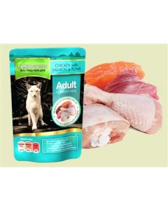 Natures Menu Cat Chicken/Salmon/Tuna 100 gr