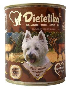 Hrana umeda pentru caini, Dietetika Vanat, 800 gr