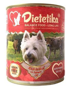 Hrana umeda pentru caini, Dietetika Vitel, 800 gr