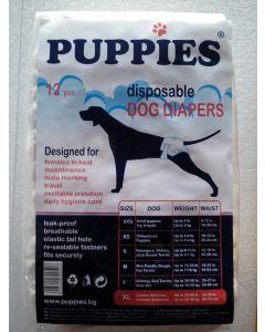 Puppies Scutece Caini XL 12 buc