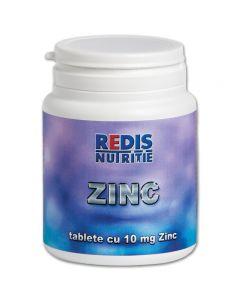 Supliment nutritiv Redis, Zinc, 120 tablete