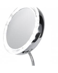 Oglinda Reglabila pentru Machiaj cu Lupa si Iluminare cu LED Adler