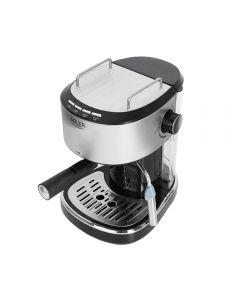 Espressor de Cafea Adler, Functie Spumare Lapte, Putere 850W, Rezervor Detasabil Apa 1L, Presiune 15 Bar, Gri/Negru