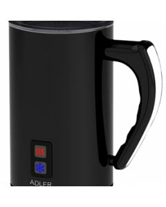 Aparat pentru Preparat Spuma de Lapte Adler, Capacitate 240ml, Culoare Negru