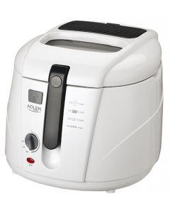 Friteuza electrica pentru cartofi si alte delicatese, putere 1800W, capacitate 2.5L, culoare alb