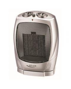 Aeroterma Ceramica Adler cu Termostat, Putere 1500W, 2 Trepte Incalzire, Functie de Oscilatie Automata