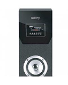 Sistem Audio Stereo Boxa Bluetooth Turn cu Telecomanda, USB, SD, AUX, LED, Putere 60W, Negru