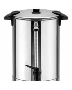 Incalzitor electric din inox cu robinet pentru vin, ceai, apa, cafea, capacitate 8.8L, putere 950W