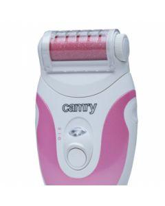 Pila electrica pentru calcaie Camry, 30 rotatii / secunda, 4 capete de schimb, putere 2W