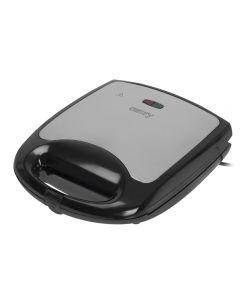 Sandwich Maker Camry, Putere 1100W, Capacitate 4 Sandwich-uri, Placi Antiaderente, Indicator Luminos