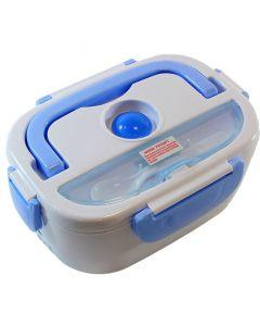 Caserola Termica LunchBox pentru Mancare cu 2 Compartimente, Volum 1,1L, Putere 40W, Pana la 50 Grade