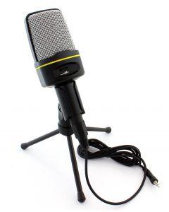 Microfon de Masa sau Birou pentru Studio cu Suport Trepied, Lungime Cablu 200cm