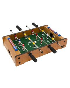 Masa Joc de Foosbal Mini Fotbal cu 12 Jucatori, Dimensiuni 51x31cm