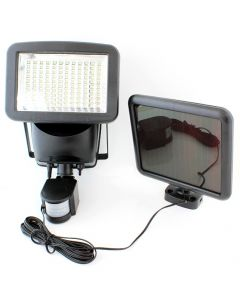 Proiector Lampa LED cu Incarcare Solara, Senzor de Miscare si Lumina, Flux Luminos 400 lm
