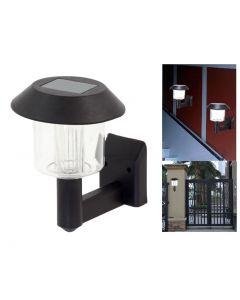 Lampa solara de perete cu baterie reincarcabila si LED rezistenta la conditiile meteo