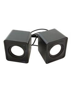 Set Boxe Stereo pentru PC sau Laptop, Conectare prin USB, Putere 2x3W, Negru