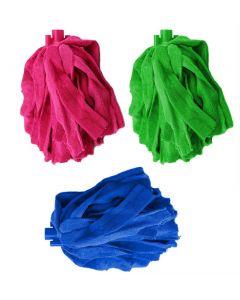 Rezerva Mop din Microfibra 140g, Lungime 31cm, Diverse Culori