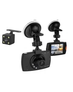 Camera Video Auto DVR Blow BlackBox, Inregistrare Trafic Full HD, Display 2.4 inch, SDHC, mini-USB, Microfon si Difuzor Incorporat