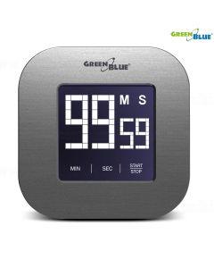 Ceas Digital cu Temporizator Magnetic si Ecran Tactil GreenBlue
