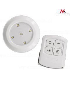 Set de 6 Lampi LED Maclean cu Control din Telecomanda