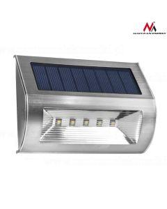 Lampa Solara de Perete cu 5 SMD din Otel Inoxidabil
