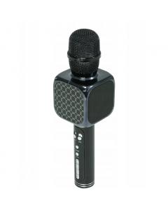 Microfon Bluetooth Wireless pentru Karaoke cu Difuzor Incoroprat, USB si Diverse Efecte, Culoare Negru