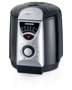 Mini Friteuza Electrica Severin cu 6 Furculite de Fondue, Putere 840W, Termostat Regabil, Capacitate 950ml, Inel Antistropire