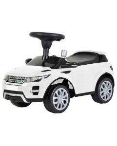 Masinuta Electrica tip Range Rover pentru Copii cu Volan si Scaun Reglabil, Capacitate 25kg, Culoare Alb
