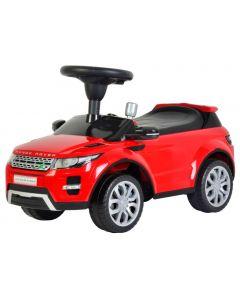 Masinuta Electrica tip Range Rover pentru Copii cu Volan si Scaun Reglabil, Capacitate 25kg, Culoare Rosu