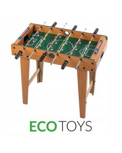 Masa Joc de Foosbal Mini Fotbal cu 18 Jucatori, Dimensiuni 70x65cm