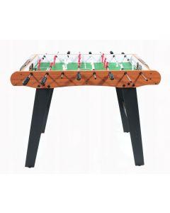 Masa Joc de Mini Fotbal Foosball din Lemn, 18 Fotbalisti, 8 Tije, Dimensiuni 77x48cm