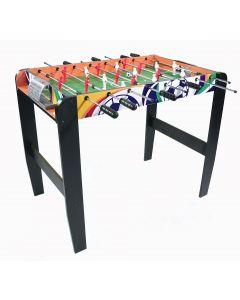 Masa Joc de Mini Fotbal Foosball, 18 Fotbalisti, 8 Tije, Dimensiuni 77x48cm
